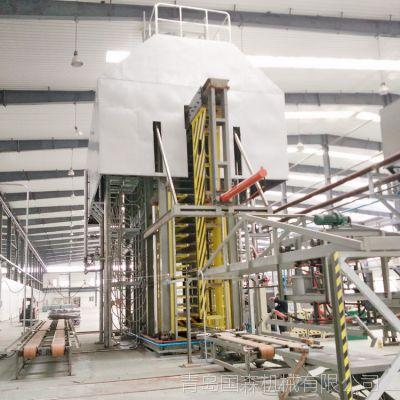 供应自动化程度高20层绝缘板设备热压机组-青岛国森机械