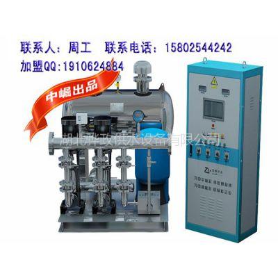 供应丽水无负压供水设备,嘉兴箱式无负压供水设备原理,中崛共享历程