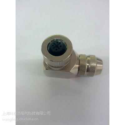 M12航空插头,M8,5/8,7/8圆形接插件,金属插头