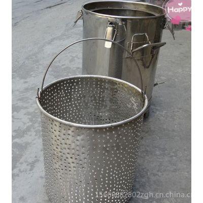 供应不绣钢316双层果蔬酿酒设备桶 40L 各款型号可定做