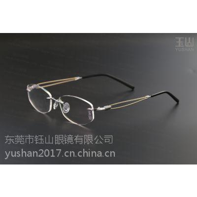 昆明高端K金眼镜眼镜直销,男女士商务近视眼镜定制-玉山
