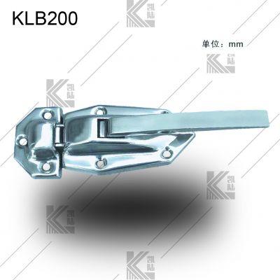 凯陆 304不锈钢把手 设备门把手 工业把手 冷库门把手自动上锁 冷柜把手 冷柜拉手 厨具拉手 工
