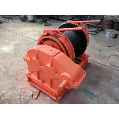 广西北流天旺5吨三轴加重型手制动提升卷扬机