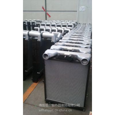 安徽江淮格尔发前四后四牵引车水箱中冷器价格
