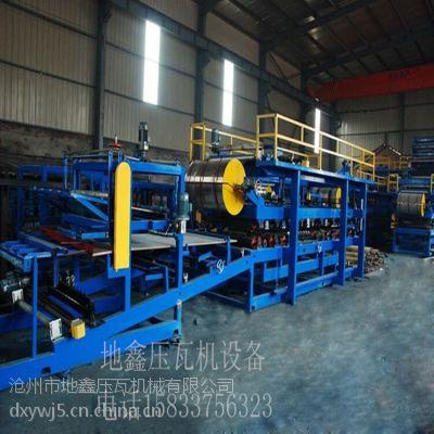 地鑫液压驱动C型钢机设备 金属折瓦机 彩钢泡沫复合板机设备