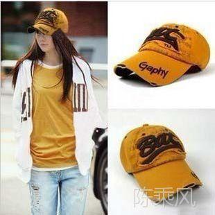 2014韩版新款春夏Bat字母棒球帽成人帽 女士鸭舌帽帽子批发 B052