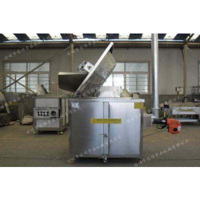 供应佳特JTRQ-1200型豆类专用油炸机 油炸机厂家 油炸锅