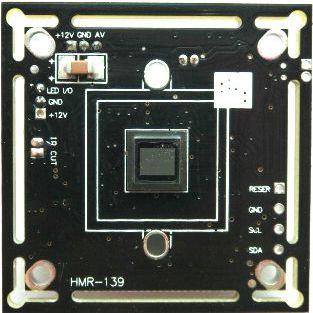 供应彩色CMOS板-700线IR-CUT可选 OV139 高清机板
