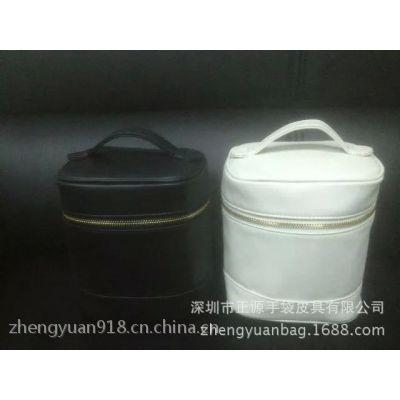 专业生产pu皮化妆包 韩版手拿品牌化妆包深圳厂家定做