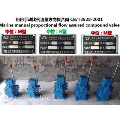 供应CSBF-G25船用手动比例流量方向复合阀CB/T3928-2001
