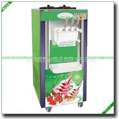 供应北京做冰淇淋的机器 夹心冰激凌机 软冰淇淋机 三色冰激凌机