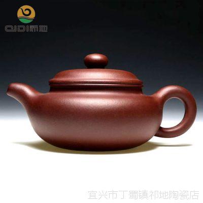 厂家批发直销茶具正品宜兴全手工紫砂壶 原矿紫泥中品仿古280毫升