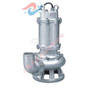 WQP、WQS、WQF腐蚀性介质专用潜水泵100WQP80-10-4点泉制造