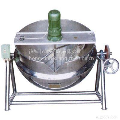 供应宜福达导热油夹层锅_大型夹层锅