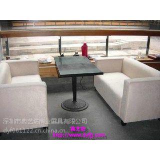 盐田咖啡厅卡座沙发 西餐厅桌椅 厂家定制