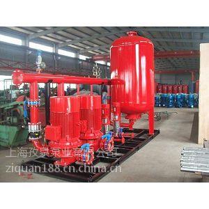 上海恒压消防泵厂家XBD11/20-HY立式喷淋给水泵XBD9/40-SLH消防水炮泵