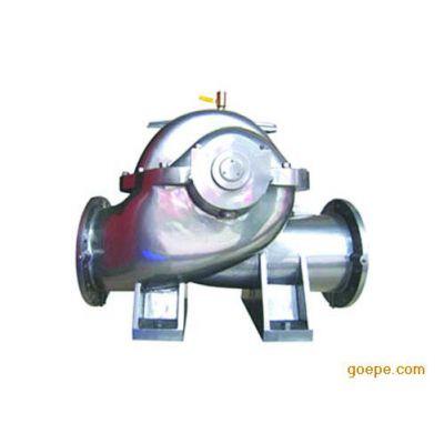 供应新疆农田排灌专用S型大流量泵