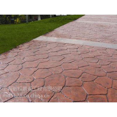供应常熟彩色混凝土压印地坪