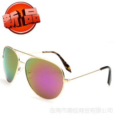 正版维多利亚3026彩膜女款太阳镜空军专用镜开车司机驾驶镜墨镜