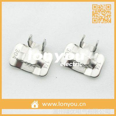 牙型不锈钢扎扣/打包扣9.50X1.0MM