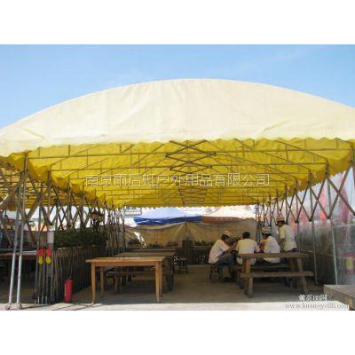 南京货运推拉帐篷移动车棚雨蓬活动蓬房