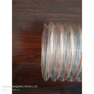供应家具厂吸尘管木工车间吸尘管PU镀铜钢丝软管