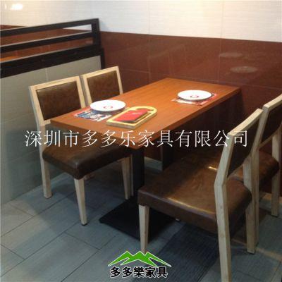 供应直销肯德基餐桌椅 快餐桌椅 餐厅餐桌椅 食堂连体餐桌椅