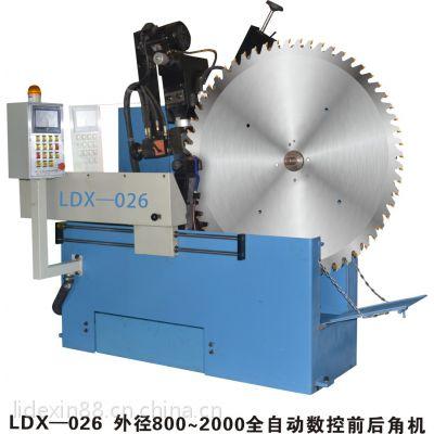 佛山利德鑫LDX-026外径800~2200全自动大型硬质合金圆锯片磨齿机 自动磨锯机 可修磨160