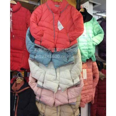 羽绒服批发厂家直销韩版修身女式便宜羽绒服棉衣低价批发