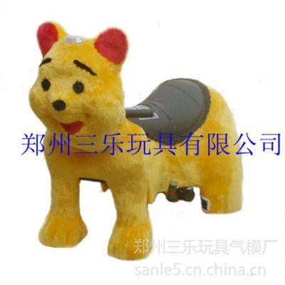 供应成都可爱宝贝毛绒电瓶车,郑州三乐厂家直销价格优惠
