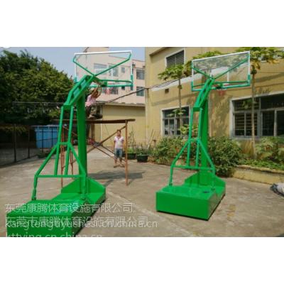 国际标准式凹箱篮球架 球架安装价格 生产厂家 找康腾体育