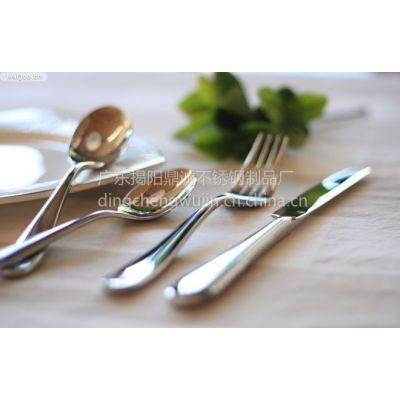 供应厂家供应加工 430不锈钢餐具 430不锈钢西餐具 430西餐刀叉