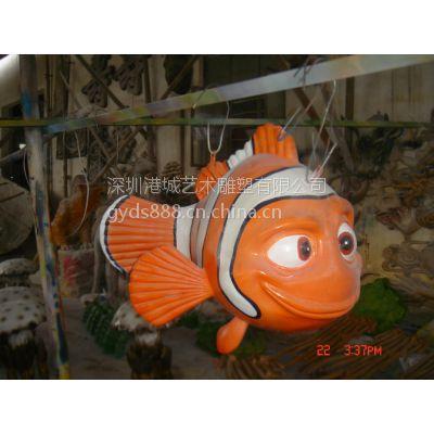 深圳市专业玻璃钢高品质仿真海洋生物雕塑