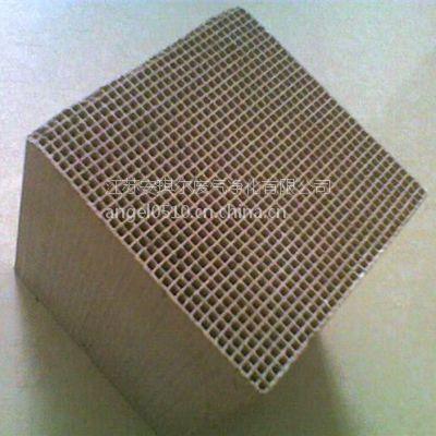 江苏安琪尔有机废气催化燃烧处理堇青石蜂窝陶瓷催化剂