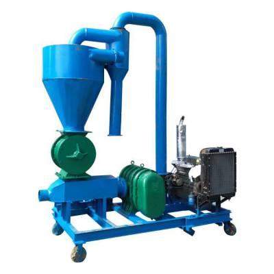 粮库专用移动式气力输送机 优质高扬程气力吸粮机 安装调式