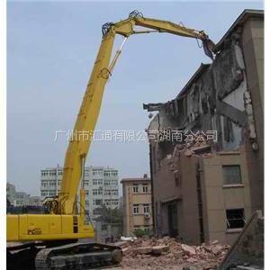 供应陕西挖掘机拆楼臂(2013年报价)Q550加强型锰钢