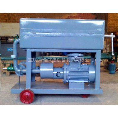 BK-100手推式液压油板框滤油机