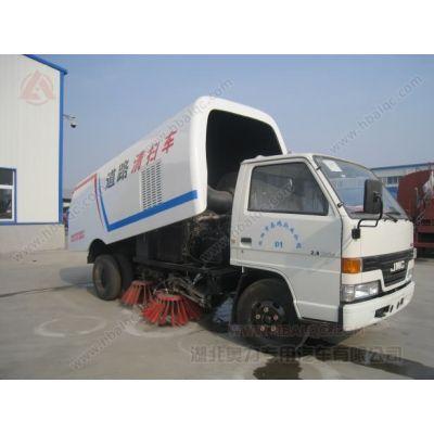 供应江铃道路清扫车 小型扫路车 江铃5m³马路清扫车