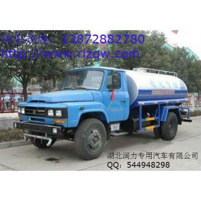 供应6吨东风尖头绿化喷洒车-广西洒水车