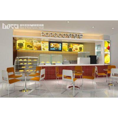 供应休闲食品店面装修设计及专卖店设计与施工服务