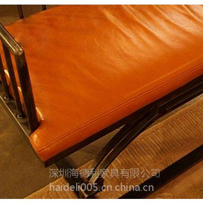 海德利热销定制 美式乡村北欧工业复古沙发 loft风格皮制沙发 批发