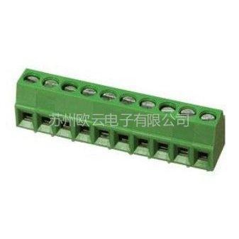 供应常州/昆山/吴江/杭州/泰州/扬州/深圳弹簧式PCB接线端子