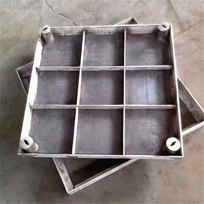 安徽 下沉式雨水井盖、双层不锈钢井盖,不锈钢阴沟盖板 耀荣