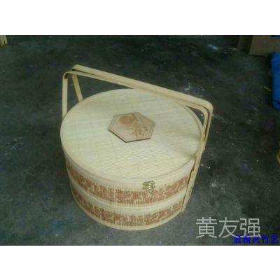 2015年款竹包装月饼盒  月饼竹盒  中秋礼品包装竹篮
