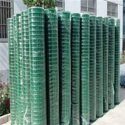 优质便宜铁网围栏 养鸡果园铁网围栏绿色 塑胶养殖围栏