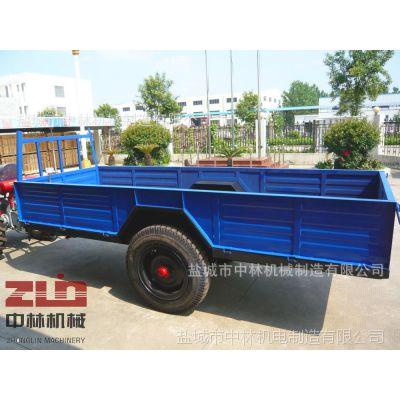 供应四轮农用拖车(图)中林拖车中林机械制造