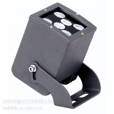 大功率LED投光灯6W 12W泛光灯方形投光灯户外亮化园林楼宇水射灯