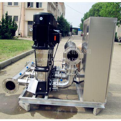 西安无负压变频供水设备 西安厂家直销无负压供水设备自吸泵批发 RJ-S129
