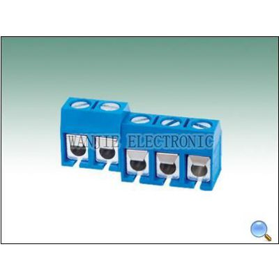 供应PCB接线端子301R-5.0   欧式接线端子301R-5.0  螺钉式接线端子301R-5.0