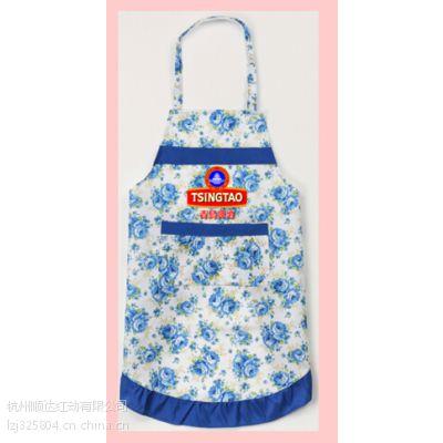 供应浙江广告围裙定制 餐厅厨房围裙加工制作/创意广告围裙